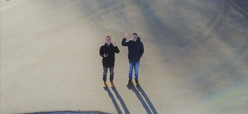 Luftbild Hallo